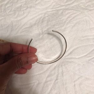 """Jewelry - Silver Mantra Bangle NWT """"Ask For Love"""""""